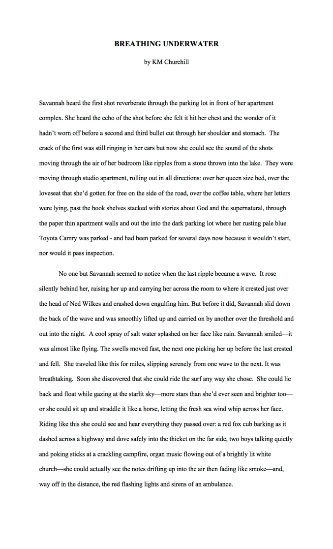 Sample Short Story